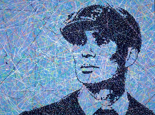 Tommy Shelby by Jim Dowie - Original Painting on Box Canvas
